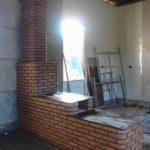 Fogão a lenha e forno de ferro fundido - Modelo: Alvinopolis