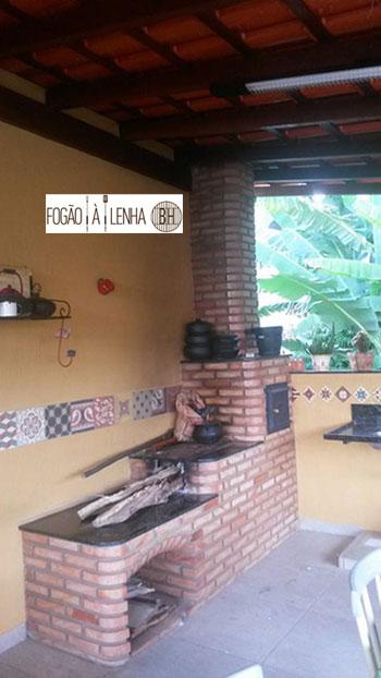 Fogão a Lenha com forno em Cachoeira do Campo