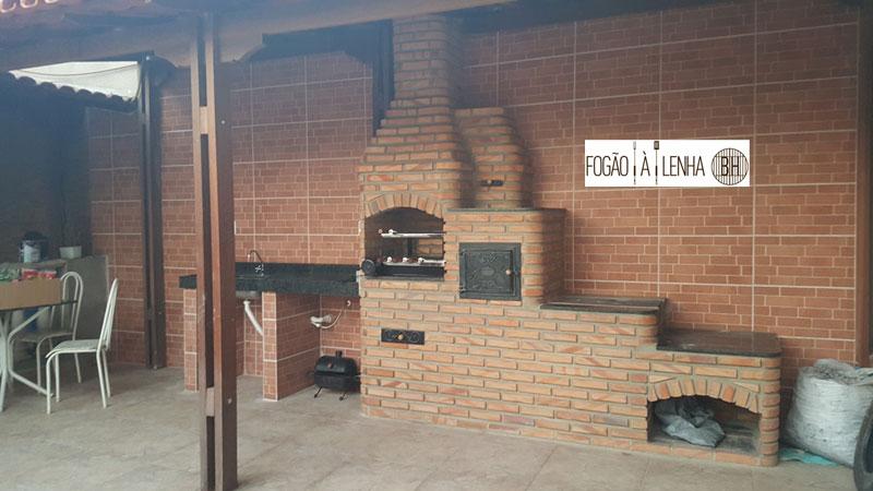 Fogão a Lenha de Tijolinho no Vila Pérola, Contagem