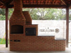 Fogão a Lenha com forno e churrasqueira em Igarapé