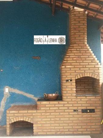 Fogão a Lenha e Churrasqueira de Tijolinho em Itabira