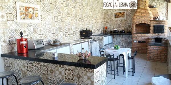 Fogão a Lenha e Churrasqueira de Tijolinho em Pará de Minas
