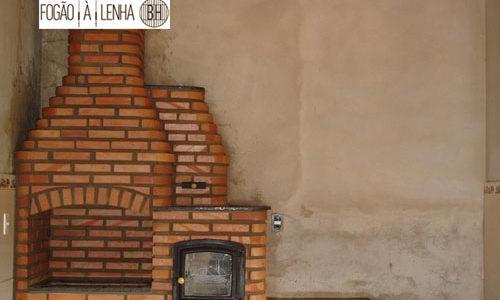 Fogão a Lenha, Forno, Churrasqueira de Tijolinho em Carmópolis de Minas